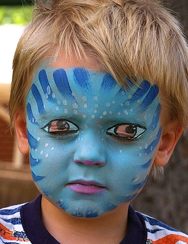 Dragon Face Paint Video